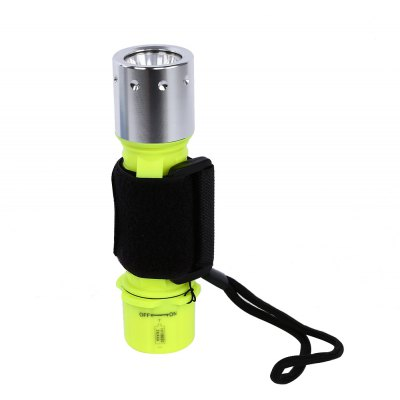 XML - T6 3 Modes 1000LM Strong Light Diving Torch Underwater Flashlight