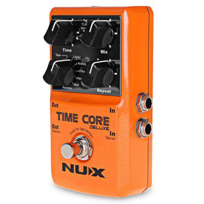 NUX Time Core Deluxe Multi Guitar Effect Pedal True BypassMusical Instruments<br>NUX Time Core Deluxe Multi Guitar Effect Pedal True Bypass<br><br>Package Contents: 1 x Time Core Guitar Effect , 1 x Chinese - English User Manual<br>Package Size(L x W x H): 12.50 x 9.00 x 5.50 cm / 4.92 x 3.54 x 2.17 inches<br>Package weight: 0.4100 kg<br>Product weight: 0.3210 kg<br>Remote Control: No