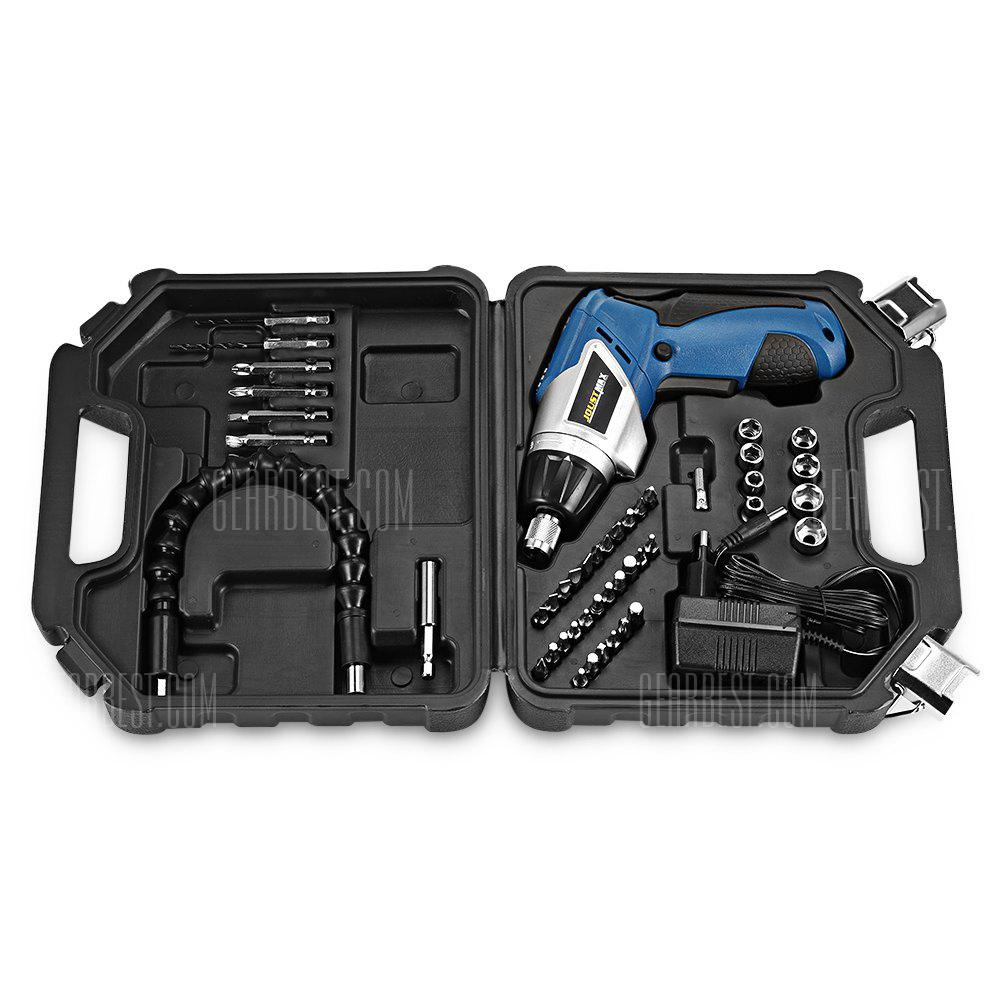 Rechargeable Screwdriver Set - Blue