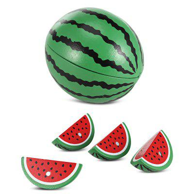 Watermelon Shape Wooden Sliced Toy от GearBest.com INT