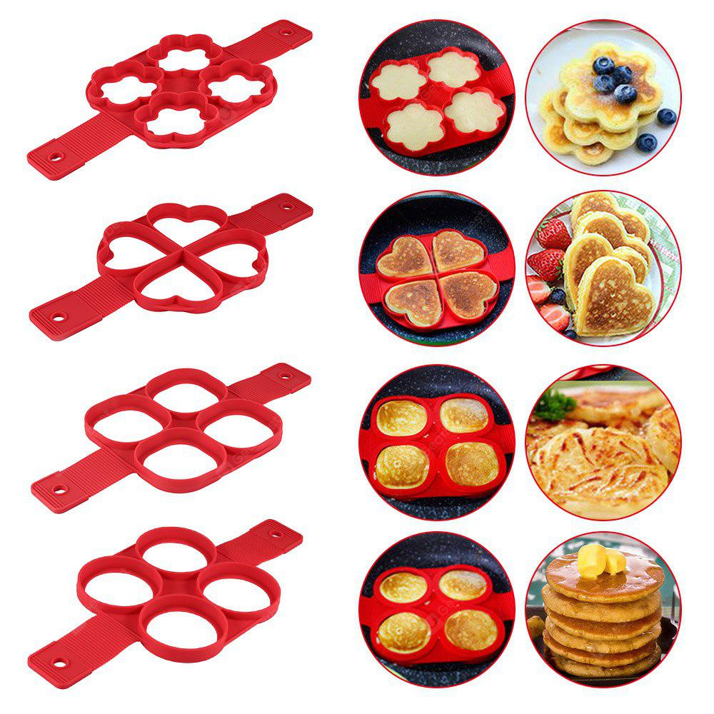 Non-stick Silicone Pancake Ring Fried Egg Mold