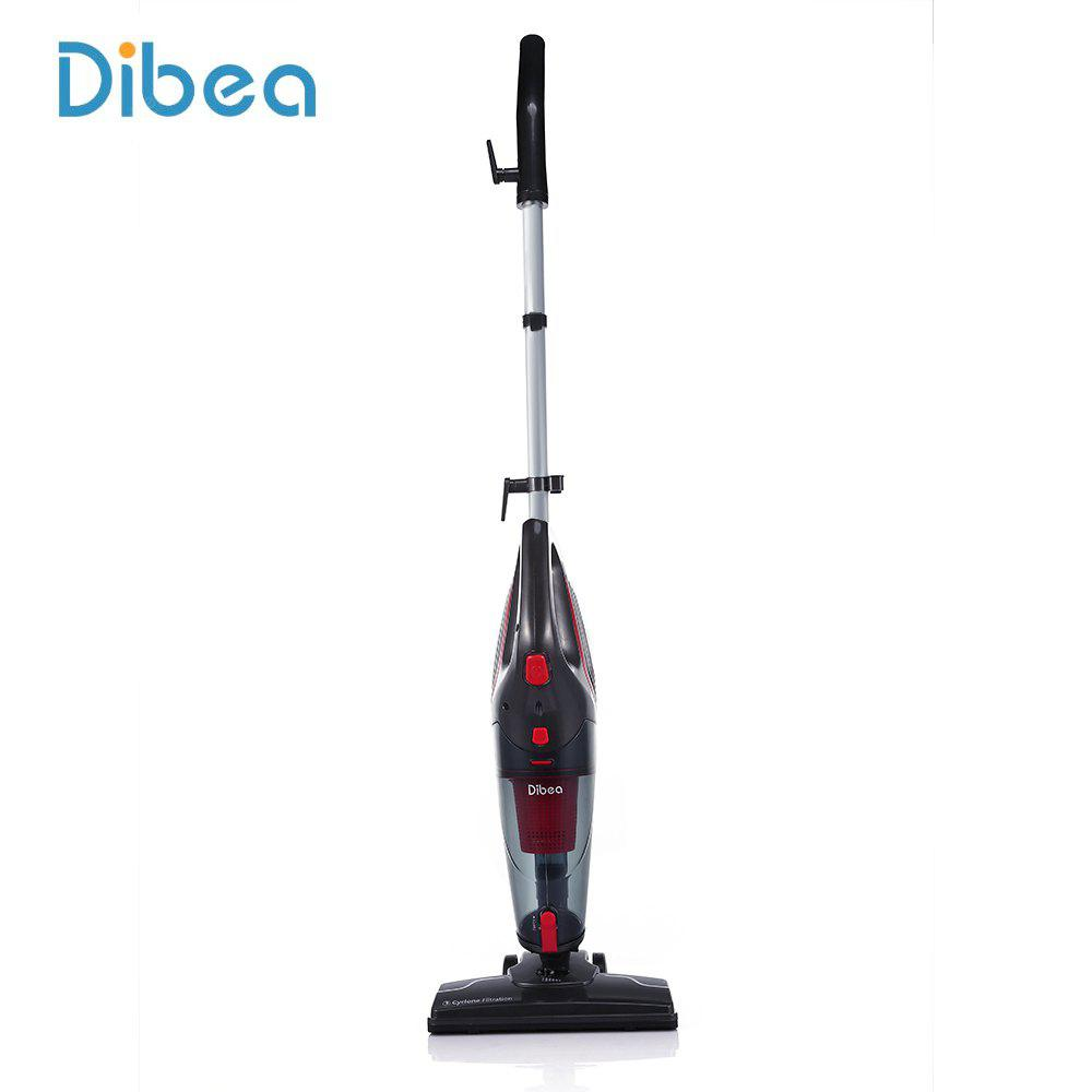 Dibea SC4588 2 1 Cord Handheld Stick Vacuum Cleaner BLACK AND RED