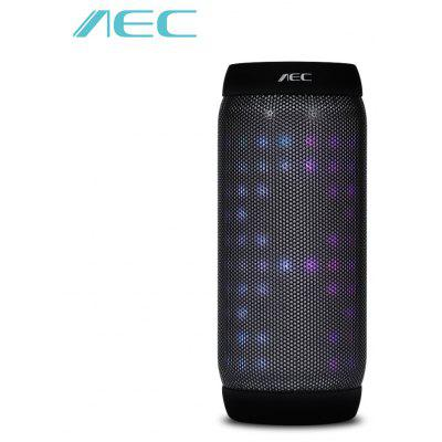 Buy BLACK AEC BQ 615S Bluetooth Speaker Wireless Stereo RGB Lights for $27.85 in GearBest store