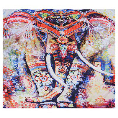 Indian Elephant Tapestry Wall Hanging Decor Beach Towel