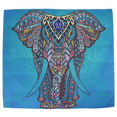Indian Elephant Tapestry Wall Hanging Decor Table Cloth Beach Towel