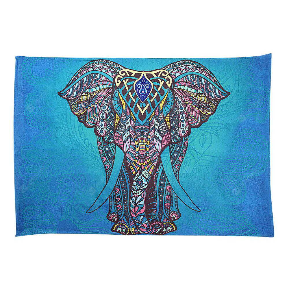 Indian Elephant Tapestry Wall Hanging Decor Beach Towel - $8.86 Free ...