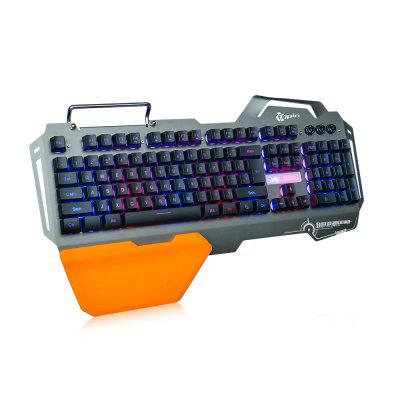 7pin PK - 820 Gaming KeyboardKeyboards<br>7pin PK - 820 Gaming Keyboard<br><br>Anti-ghosting Number: all-key<br>Backlight Type: RGB Light<br>Bluetooth Version: Not Supported<br>Brand: 7pin<br>Cable Length (m): 1.8m<br>Connection: Wired<br>Interface: No<br>Key Number: 104<br>Keyboard Lifespan ( times): 20 million<br>Keyboard Switch Type: Blue Switch<br>Keyboard Type: Membrane Keyboards<br>Material: ABS, Aluminum Alloy<br>Model: PK - 820<br>Package Contents: 1 x 7pin PK - 820 Gaming Keyboard, 1 x Wrist Rest, 1 x Bilingual User Manual in English and Chinese<br>Package size (L x W x H): 55.00 x 22.80 x 5.50 cm / 21.65 x 8.98 x 2.17 inches<br>Package weight: 1.5050 kg<br>Product size (L x W x H): 47.50 x 26.00 x 4.50 cm / 18.7 x 10.24 x 1.77 inches<br>Product weight: 1.2300 kg<br>Response Speed: 1ms<br>System support: Windows, Mac OS, Linux<br>Type: Keyboard