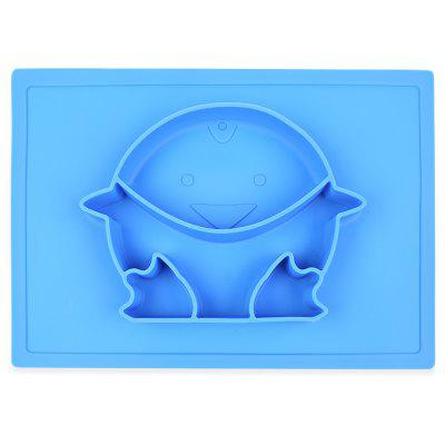 Silicone Baby Kids Food Placemat Plate Dish Bowl