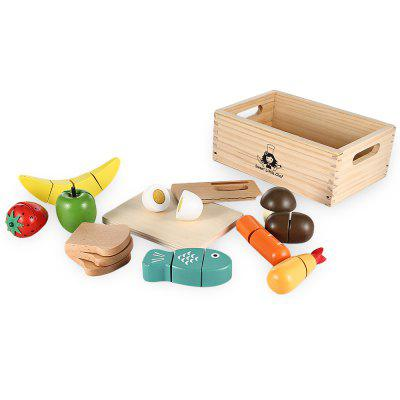 13pcs Cutting Fruits and Vegetables Toy от GearBest.com INT