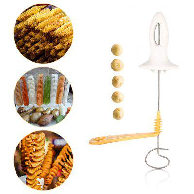Potato Chips Spiral Cutter Tower Making Twist Shredder