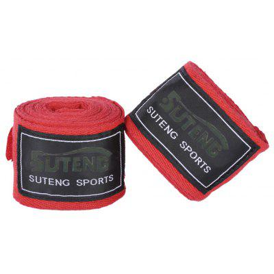SUTENG 1 Pair Cotton Boxing Handwrap Punching Fighting Bandage