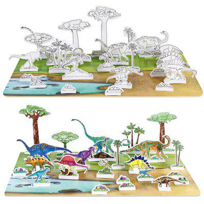 3D Drawing Dinosaur Puzzle Toy