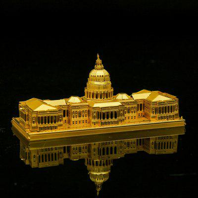 Stainless Steel United States Capitol 3D Puzzle