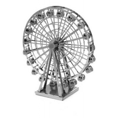 Stainless Steel Ferris Wheel 3D Puzzle