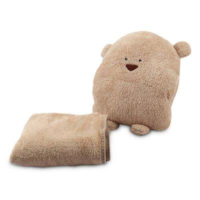 Plush Doll Toy Nap Pillow Blanket