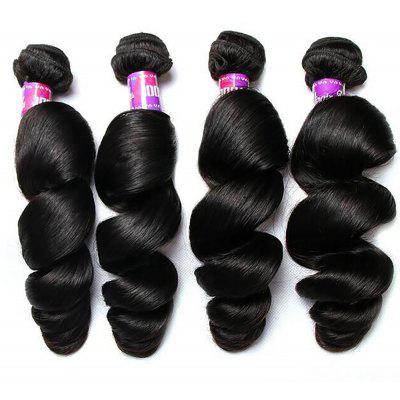 7A Brazilian Women Loose Wave Heat Resistant Hair Extension