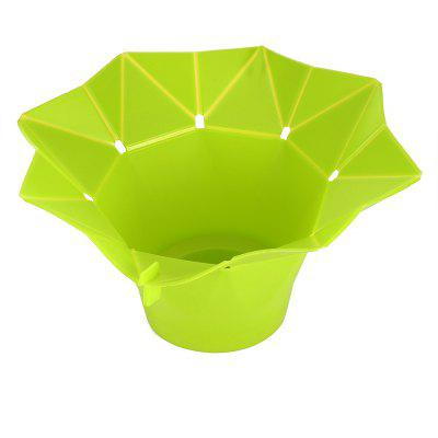 Folding Microwave Silicone Popcorn Maker Container