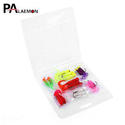 PALAEMON 17pcs / Set Fishing Lure Lead Jig Head Hook