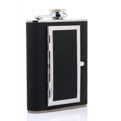 Dual Use Hip Flask Cigarette Case