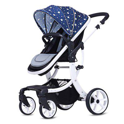 Bidirectional Foldable Pram Baby Stroller
