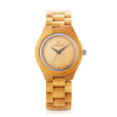 REDEAR 1448 Women Wooden Quartz WatchWomens Watches<br>REDEAR 1448 Women Wooden Quartz Watch<br><br>Band Length: 6.89 inch<br>Band Material Type: Wooden<br>Band Width: 20mm<br>Case material: Wooden<br>Case Shape: Round<br>Case Thickness: 0.43 inch<br>Clasp type: Folding Clasp<br>Dial Diameter: 1.61 inch<br>Dial Display: Analog<br>Dial Window Material Type: Mineral Glass Mirror<br>Gender: Women<br>Movement: Quartz<br>Package Contents: 1 x Watch, 1 x Box, 1 x Screwdriver, 1 x Cloth, 1 x English User Manual<br>Package Size(L x W x H): 15.50 x 6.10 x 3.20 cm / 6.1 x 2.4 x 1.26 inches<br>Package weight: 0.1360 kg<br>Product Size(L x W x H): 22.00 x 4.50 x 1.10 cm / 8.66 x 1.77 x 0.43 inches<br>Product weight: 0.0390 kg<br>Style: Simple