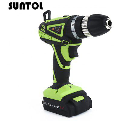 SUNTOL 12V Multi-function Lithium-ion Battery Electric Drill