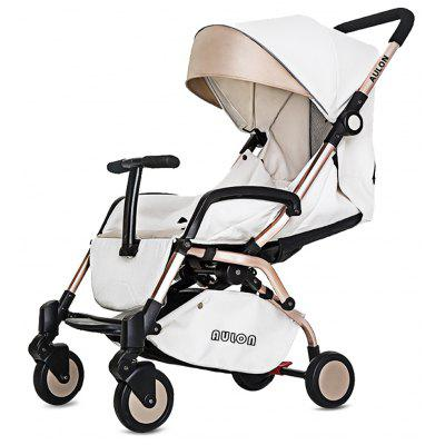 Portable Four-wheel Baby Stroller