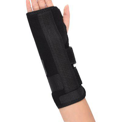 Right Hand Black Wrist Brace Support Splint