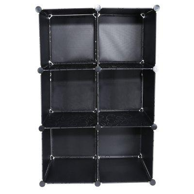 Assembled 8 Cube Bookcase