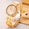 REDEAR SJ1628 Unisex Quartz Wooden Watch - LIGHT BROWN - MAPLE