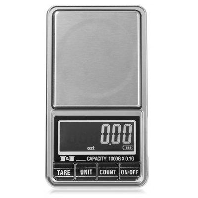 500 x 0.01g Digital Weighing Scale with Back-lit LCD Display