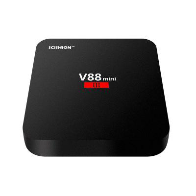 SCISHION V88 Mini III TV Box - 2GB RAM + 8GB ROM EU PLUG