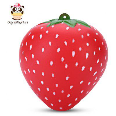 SquishyFun PU Slow Rising Simulate Strawberry Fragrant Toy