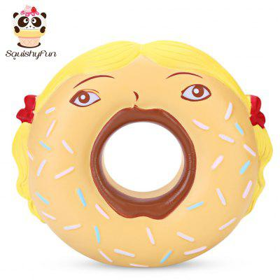 SquishyFun PU Slow Rising Simulate Funny Donut Toy