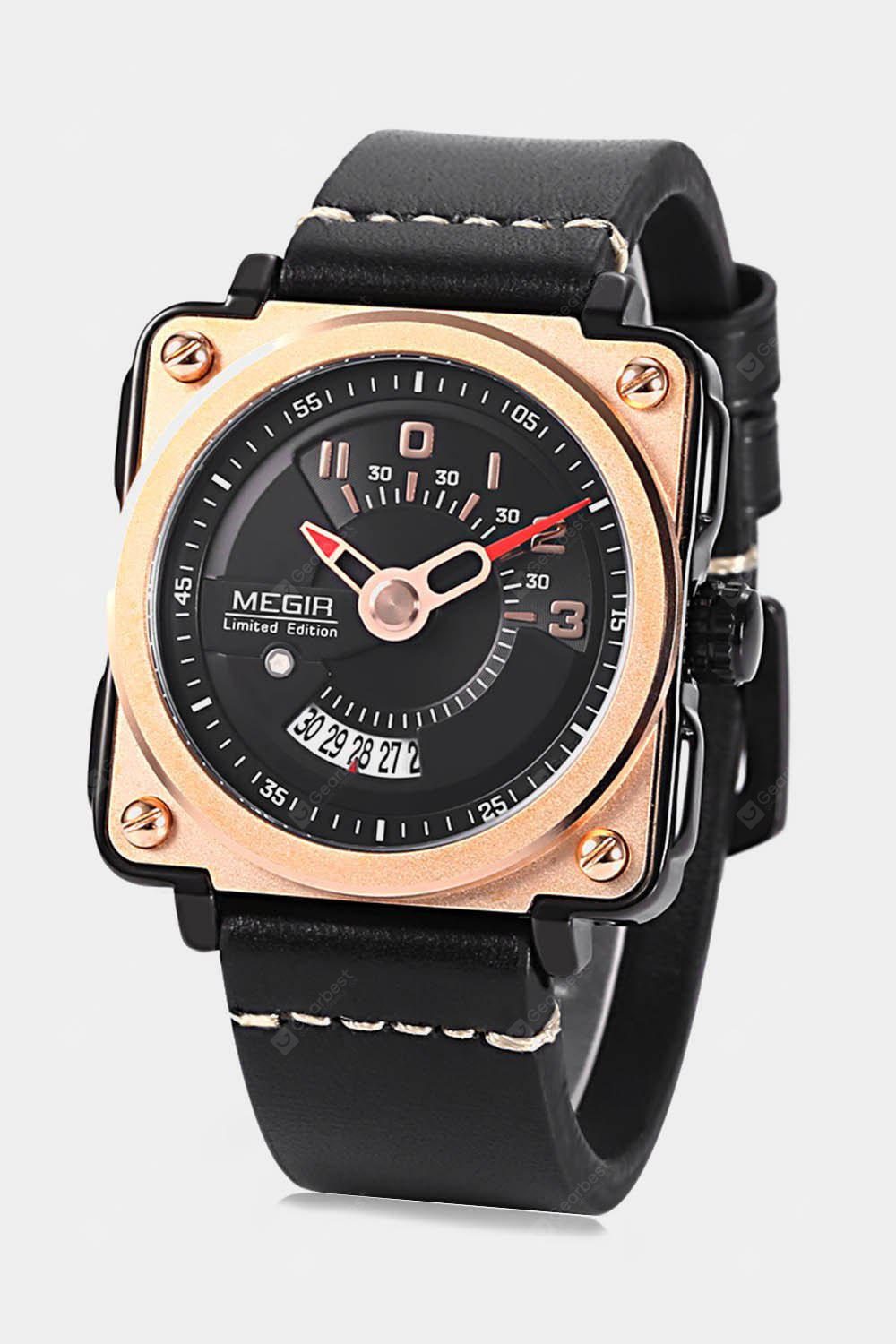MEGIR ML2040 Male Calendar Quartz Watch