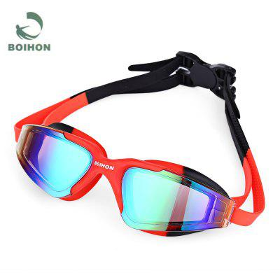 BOIHON Anti-fog Wide Frame Swimming Glasses