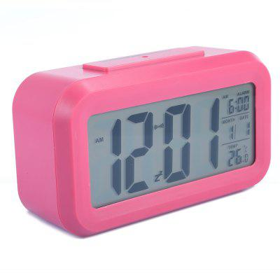 Timer Calendar Temperature Alarm ClockClocks<br>Timer Calendar Temperature Alarm Clock<br><br>Display type: Digital<br>Material: Plastic<br>Motivity Type: Digital<br>Package Contents: 1 x Digital Clock, 1 x User Manual in English and Chinese<br>Package Size(L x W x H): 14.50 x 5.50 x 8.30 cm / 5.71 x 2.17 x 3.27 inches<br>Package weight: 0.2000 kg<br>Product Size(L x W x H): 13.80 x 4.50 x 8.00 cm / 5.43 x 1.77 x 3.15 inches<br>Product weight: 0.1480 kg<br>Screen type: LED<br>Style: Modern