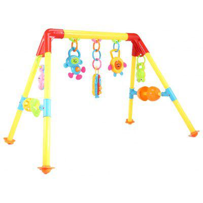 Baby Early Music Educacional Fitness Rack Bed Bell