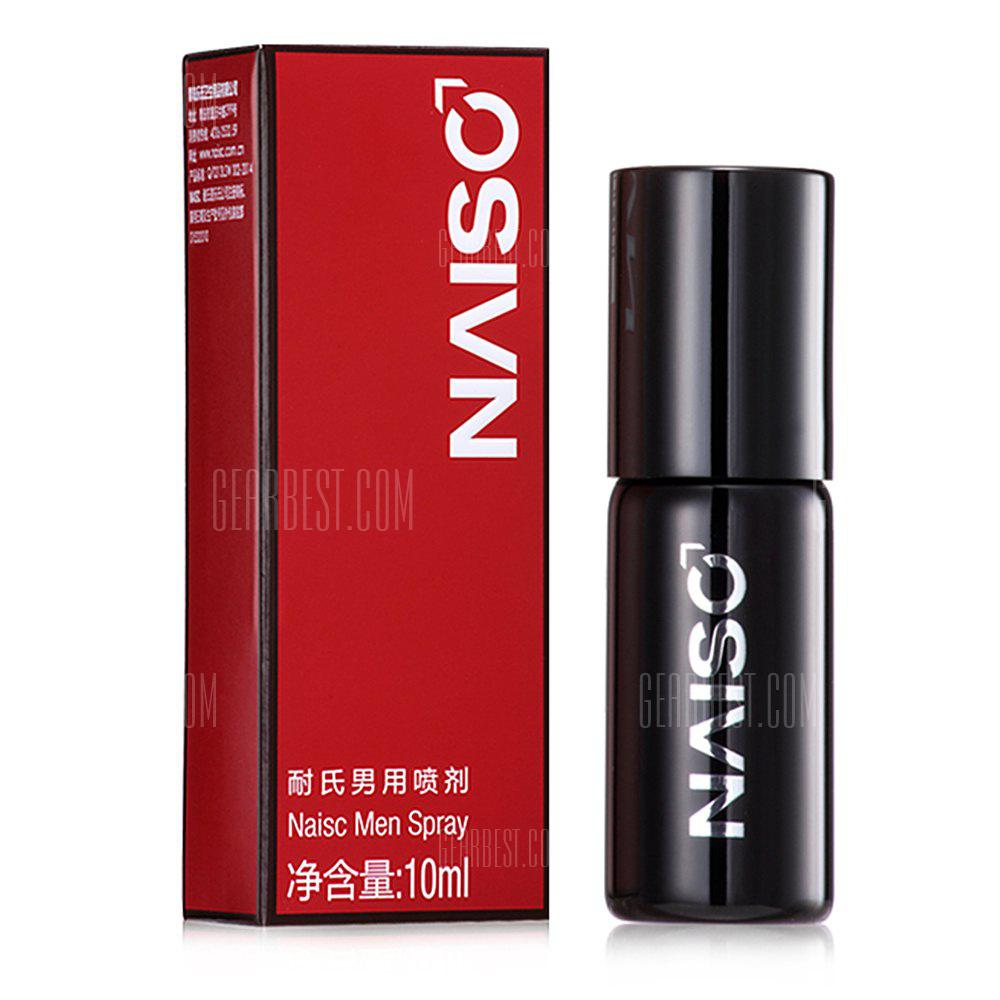 BLACK Naisc Male Sex Delay Spray 10ml Extender Penis Enlarger Anti Premature Ejaculation