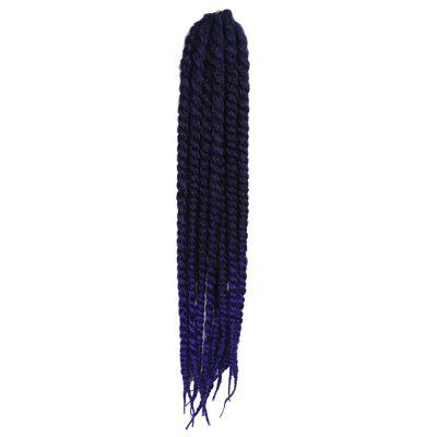 Women Synthetic Long Dreadlock Braided Hair Extension Wig