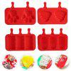 DIY Silicone Ice Pop Mold Dessert Tool - RED