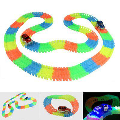 Gleamy Tracks Toys SetNovelty Toys<br>Gleamy Tracks Toys Set<br><br>Age Range: 12-15 Years,2-4 Years,3-6 Years old,5-7 Years,8-11 Years<br>Material: Plastic<br>Package Contents: 1 x Gleamy Tracks Toys Set<br>Package Size(L x W x H): 25.50 x 9.00 x 26.50 cm / 10.04 x 3.54 x 10.43 inches<br>Package weight: 0.7600 kg<br>Product weight: 0.6160 kg
