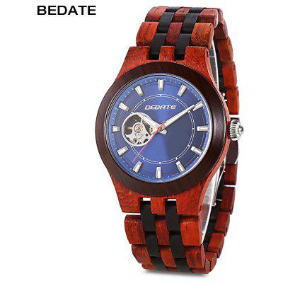 BEDATE ZS - W138A Mechanical Men Wood Watch