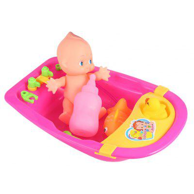 Simulated Baby Bathing Toy