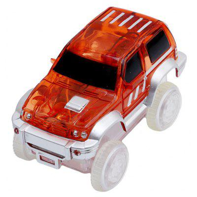LED Race Car Toy Battery Operated for Gleamy Tracks Toys Set
