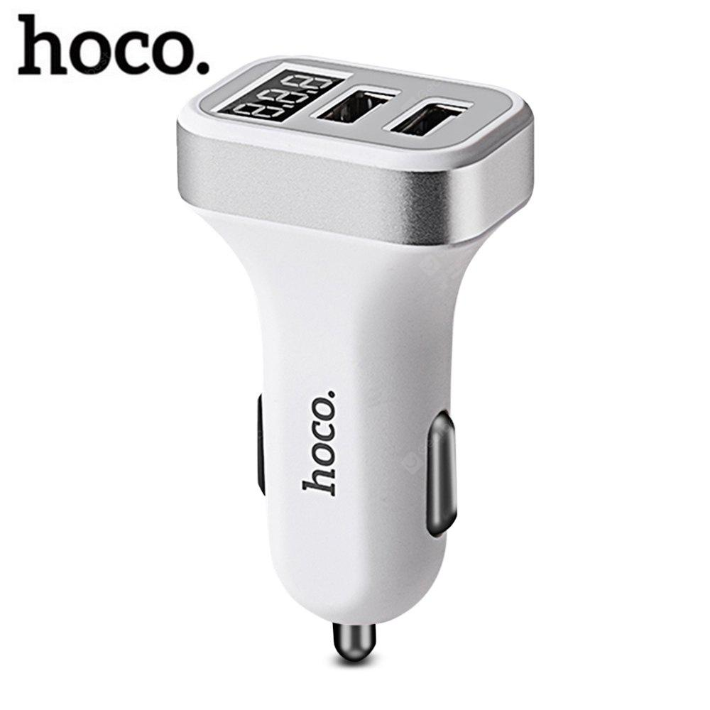 HOCO Z3 Smart Car Charger 3.1A Dual USB LCD Display