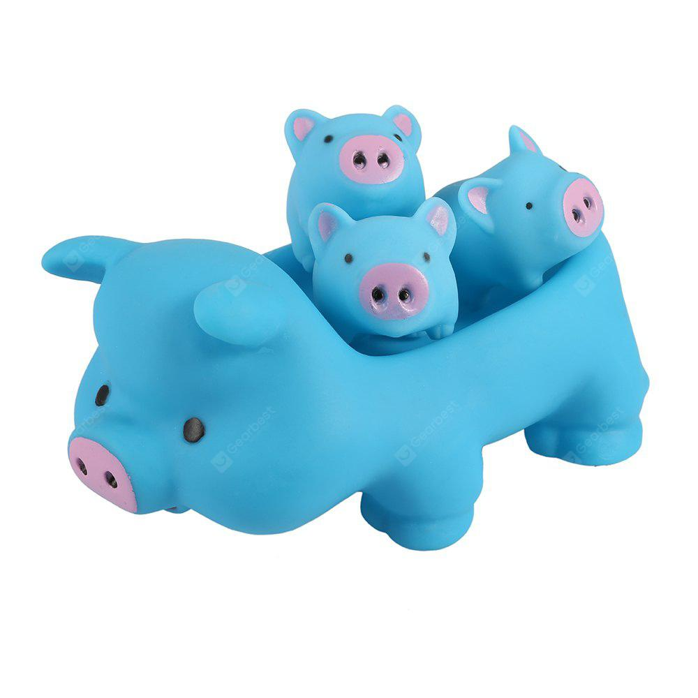 Cute Pig Floating Paddle Bath Tub Toy Suit for Baby Children - $4.91 ...