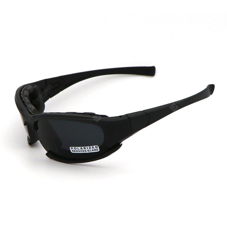 Cycling Glasses Military Goggles with 4 Interchangeable Lenses