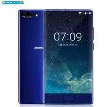DOOGEE MIX 4G 5.5 inch Android 7.0 Smartphone Helio P25 Octa Core 2.5GHz 6GB RAM 64GB ROM Metal Body Front Fingerprint Sensor Dual Rear Cameras