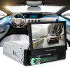 Universal 7158G GPS Car Multimedia Player - BLACK